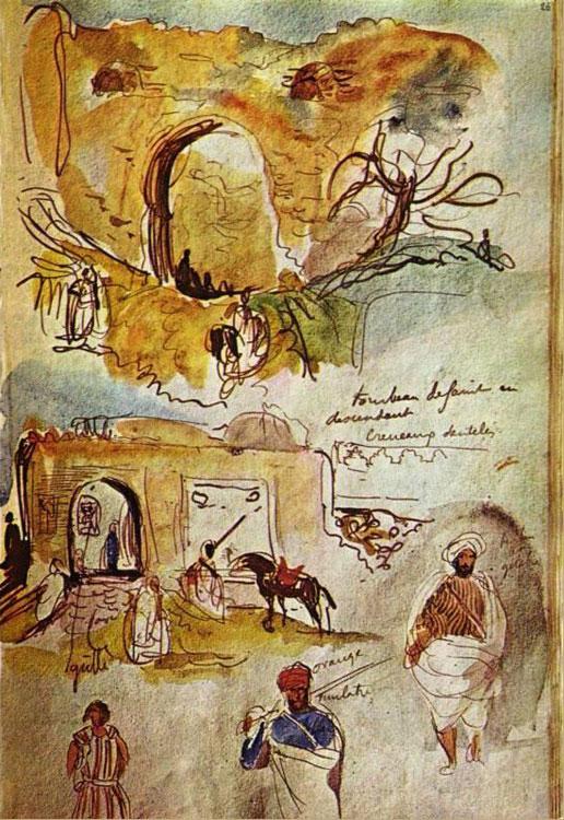 Стены Марокко. (Набросок из дневника).