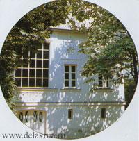 Cолнечная мастерская Делакруа.