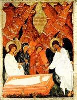 Жены - мироносицы у Гроба Господня Русский музей 15 век