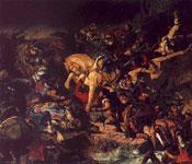 Картина Делакруа - Битва при Таллебурге