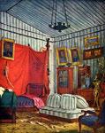 Работа Делакруа - Спальня графа де Морне