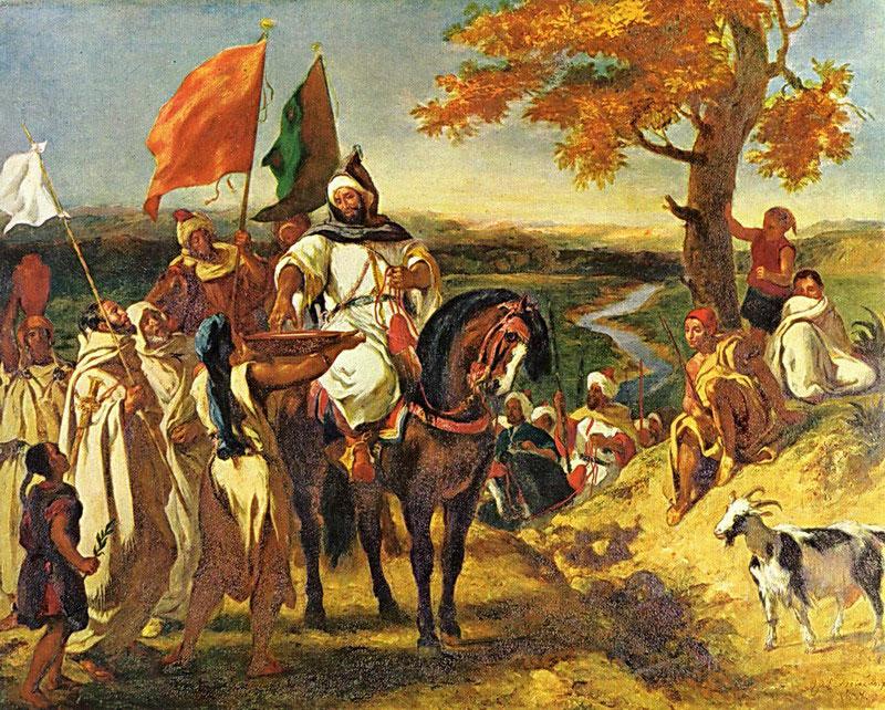Марокканский шейх навещает свой клан