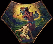 Эжен Делакруа. Адам и Ева