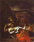 Работа Эжена Делакруа - Погребение Христа