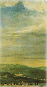 Холмы и грозовые облака