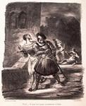 Мефистофель и Фауст, убегающие после дуэли