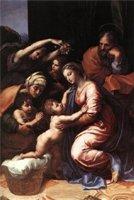 The Holy Family. Святое семейство. Рафаэль, Санцио, Рафаэло