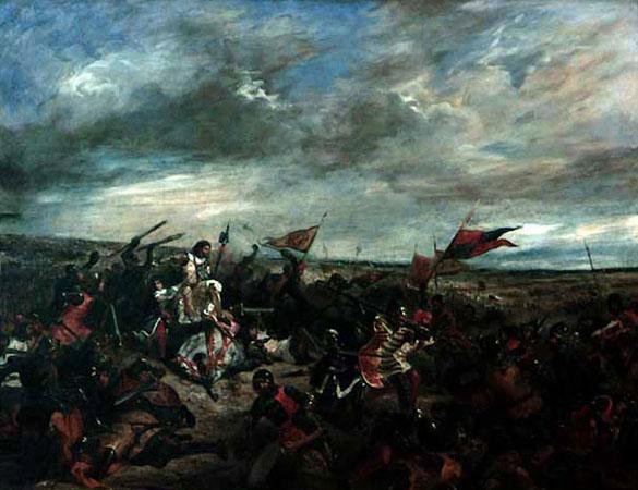 Битва при Пуатье (Эжен Делакруа)