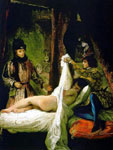 Луи Орлеанский, показывающий свою любовницу
