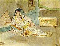 Эжен Делакруа. Алжирские женщины. (Этюд)
