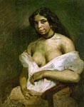 Картина Эжена Делакруа - Аспазия