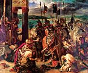 Картина Делакруа - Взятие Константинополя крестоносцами