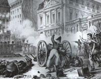 Захват орудия на улице Септ-Опоре