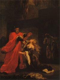 Дездемона, припадающая к ногам своего отца
