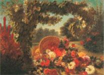 Живопись Делакруа - Цветы