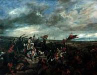 Картина Эжена Делакруа - Битва при Пуатье