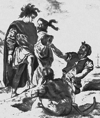 Иллюстрация к «Гамлету» Шекспира.