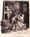 Делакруа. Фауст в тюрьме у Маргариты