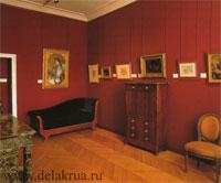 Комната, в которой художник скончался.