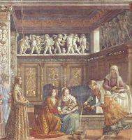 Рождение Марии - Гирландайо