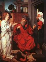 Ян Провоост. Авраам Сарра и Ангел