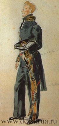 Портрет графа Шарля де Морне