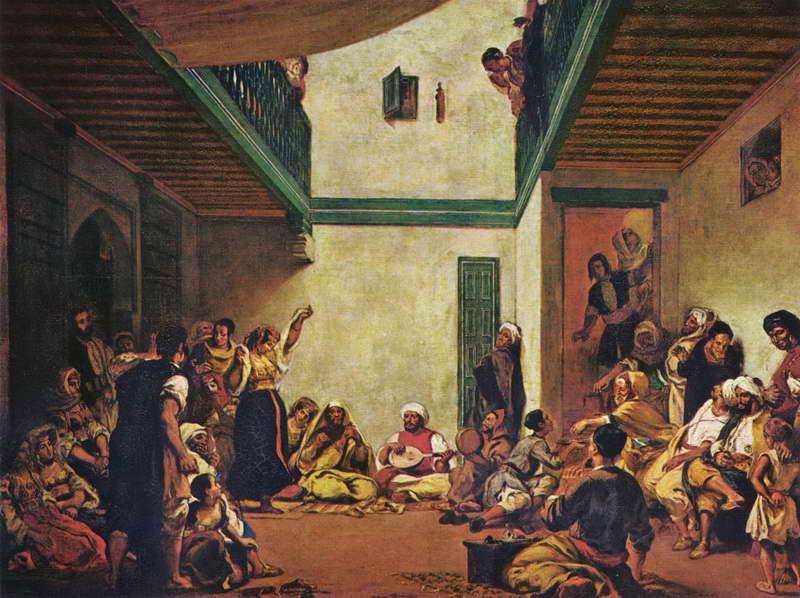 Еврейская свадьба в Марокко