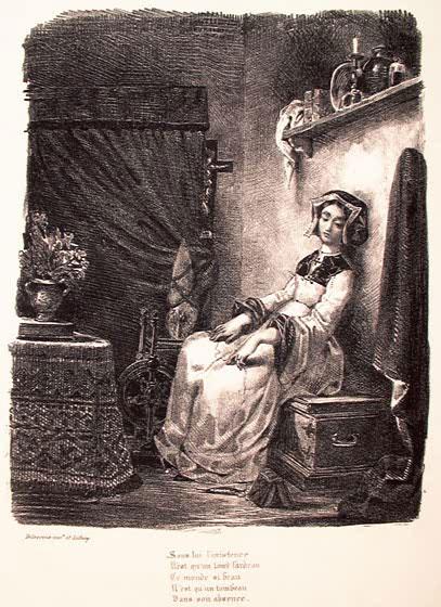 Маргарита и прялка.