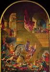 Эжен Делакруа. Изгнание Элиодора из храма