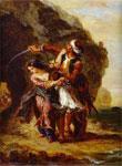 Картина Делакруа - Абидосская невеста