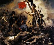Картина Эжена Делакруа - Свобода на баррикадах