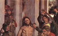 Фрагмент картины Фернандо Галлего