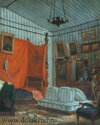 Спальня графа де Морне