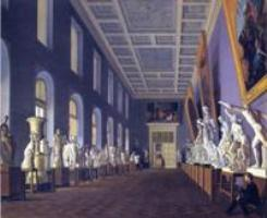 Вторая галерея антиков в Императорской Академии Художеств