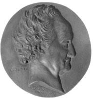 Портрет Гёте (Давид Д' Анжер, 1830 г.)
