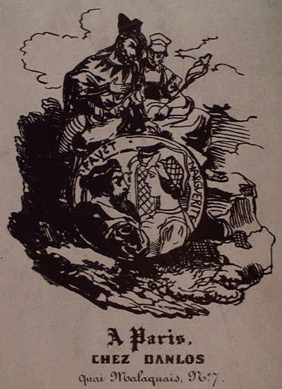Задняя обложка работы Девериа.