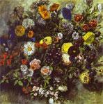 Живопись Эжена Делакруа - Букет цветов