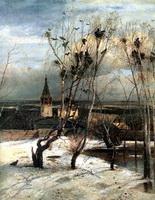 Грачи прилетели (А.К. Саврасов, 1871 г.)