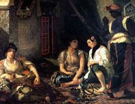 Картина Эжена Делакруа - Алжирские женщины