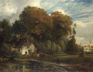 Живопись Эжена Делакруа - Смотритель коттеджа в лесу