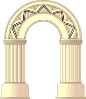 Архитектура Типичная римская арка