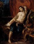 Портрет Делакруа - Одалиска