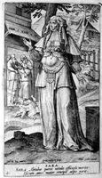 Гравюра Сарры, Hans Collaert около 1581 г