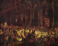Картина Делакруа - Убийство льежского епископа