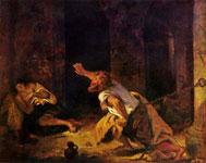 Картина Эжена Делакруа - Заточение Хилона