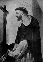 Св. Доминик (монастырь Санта Сабина, Рим, Италия.