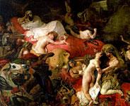 Картина Эжена Делакруа - Смерть Сарданапала