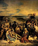 Картина Делакруа - Резня на Хиосе