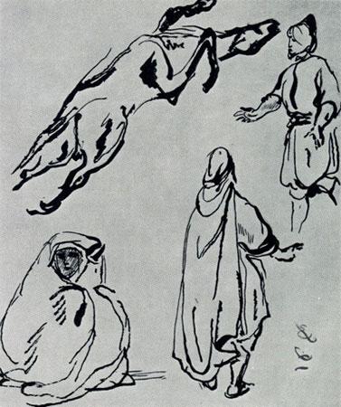 Алжирские наброски (Эжен Делакруа)